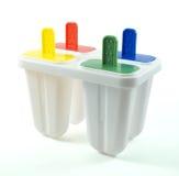 el plástico hace el helado fotos de archivo libres de regalías