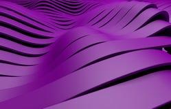 El plástico púrpura raya el fondo Stock de ilustración