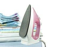 El planchar de ropa Imagen de archivo