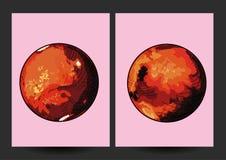 El planeta Marte Foto de archivo