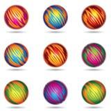El planeta tiene gusto de esferas Imágenes de archivo libres de regalías