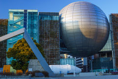 El planetario más grande del mundo Imagen de archivo libre de regalías