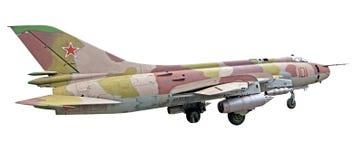 El plano su-25 Imagenes de archivo