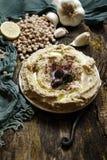 El plato famoso del ` s de Hatay es humus fotos de archivo libres de regalías