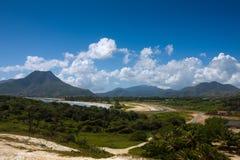 el playa tirano obraz stock