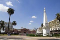 El Plaza de Mayo, Buenos Aires Foto de archivo