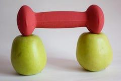 El poder de manzanas foto de archivo