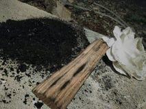 El poder del carbón de leña Fotos de archivo