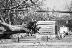 El poder del huracán Katrina imagenes de archivo
