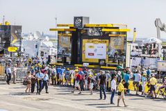 El podio del Tour de France del Le Fotos de archivo libres de regalías