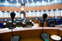 El podium Fotos de archivo