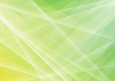 El polígono verde abstracto forma el fondo Imagen de archivo libre de regalías