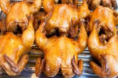 El pollo hirvió adobado en salsa de pescados Foto de archivo libre de regalías