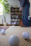 El poner en la sala de estar. Fotos de archivo libres de regalías