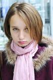 El poner mala cara del adolescente Fotos de archivo