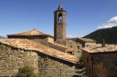 El Pont de Bar village, Pyrenees mountains, LLeida, Spain Royalty Free Stock Image