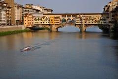 El Ponte Vecchio Fotografía de archivo libre de regalías