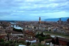El Ponte Vecchio en Florencia, Italia imagen de archivo