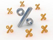 El por ciento stock de ilustración