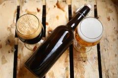 El por ciento de la cerveza Imagen de archivo
