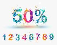 El por ciento de la venta Imagen de archivo libre de regalías
