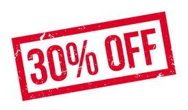 el 30 por ciento del sello de goma Libre Illustration