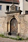 El portal barroco, meissen Fotografía de archivo libre de regalías