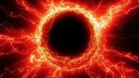 El portal de la energía del tesla metrajes