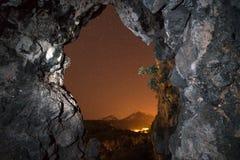 El portal del infierno Fotografía de archivo libre de regalías