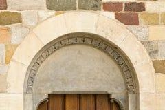 El portal histórico Imagen de archivo libre de regalías