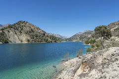 El Portillo Reservoir. Castril, Granada province, Andalusia, Spain stock images
