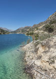 El Portillo Reservoir Royalty Free Stock Photography