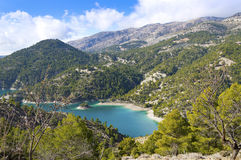 El Portillo Reservoir. Castril, Granada province, Andalusia, Spain royalty free stock photography