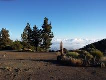 El Portillo. Portillo view from the National Park of El Teide stock image
