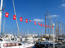 EL portuário Kantaoui foto de stock