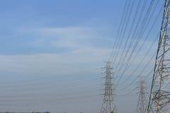 El poste eléctrico más alto Fotos de archivo