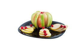 El postre de la fruta Imagenes de archivo