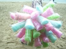 El postre tailandés es diverso color apetitoso del rotree Fotos de archivo libres de regalías