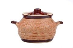 El pote de cerámica Imagen de archivo