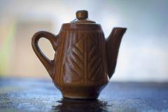 El pote del té Foto de archivo libre de regalías