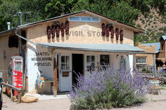 El Potrero Trading Post, New Mexico Stock Photos