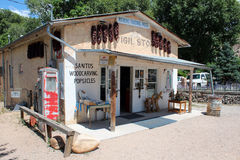 El Potrero Trading Post, New Mexico Stock Image