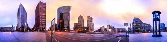 El Potsdammer Platz en Berl?n, Alemania fotografía de archivo