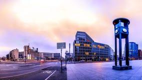 El Potsdammer Platz en Berl?n, Alemania imágenes de archivo libres de regalías