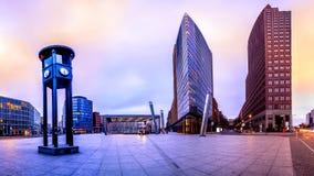 El Potsdammer Platz en Berl?n, Alemania foto de archivo libre de regalías