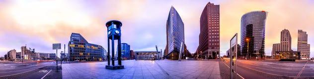 El Potsdammer Platz en Berl?n, Alemania fotos de archivo libres de regalías