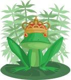 El príncipe de la rana Foto de archivo libre de regalías
