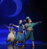 El príncipe y su ballet de la barba-Hui del socio están en la luna sobre Helan Foto de archivo libre de regalías