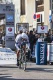 El prólogo 2013 de Veelers Tom París del ciclista Niza en Houilles Foto de archivo