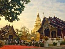 El pra de Wat canta Chiangmai Tailandia fotos de archivo libres de regalías